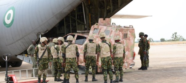 The Nigeria Air Force in Nguroje