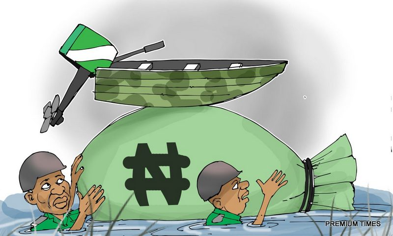 Nigerian military chiefs, politicians, and contractors are believed to have stolen more than N3.1 trillion through arms procurement contracts.