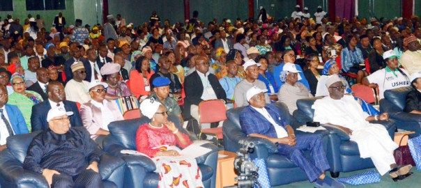 A cross-section of participants during the Service-Wide Sensitization Workshops on 2017-2020 Federal Civil Service Strategy and Implementation Plan for directorate level officers (GL15-17) in the Federal Ministries and Extra-Ministerial Department, in Abuja on Wednesday (23/5/18). 02716/23/5/2018/Albert Otu/BJO/NAN
