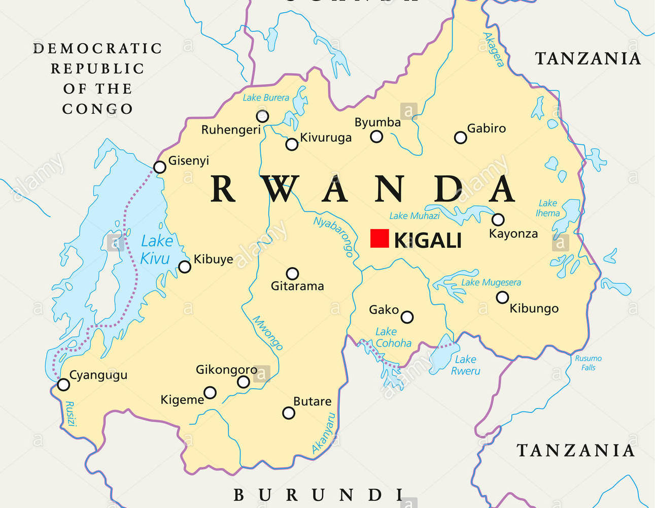 Rwanda On Map UN tribunal tracking, prosecuting Rwandan genocide fugitives – Judge