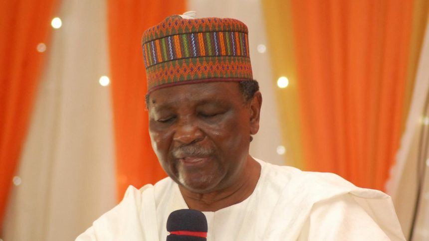 Former Nigerian Head of State, Yakubu Gowon. [Photo credit: The Guardian Nigeria]