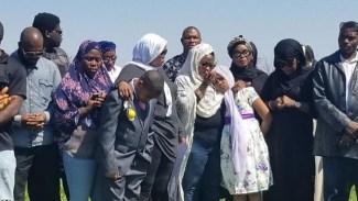 Aisha Abimbola burial