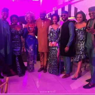 Zainab Balogun and Dikko Nwachukwu with friends
