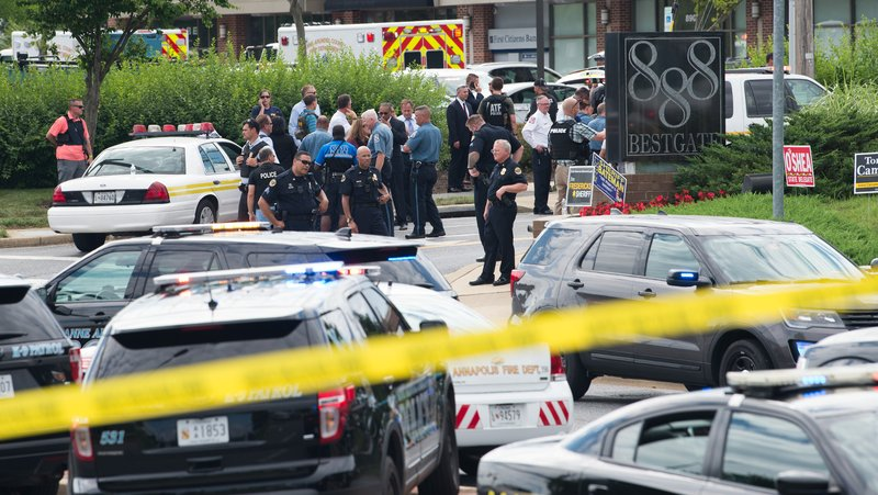 Maryland newspaper shooting suspect ID'd