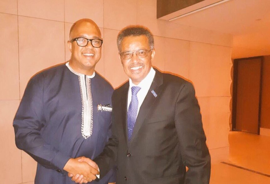 I ran into Dr Tedros in the corridors of the WHO Headquarters in Geneva, on the night he was elected Director General