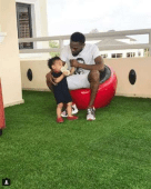 D'Banj and late son