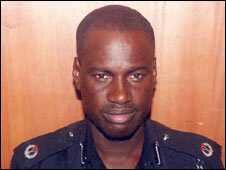 Ibrahim Danjuma, the senior officer who allegedly ordered the shooting