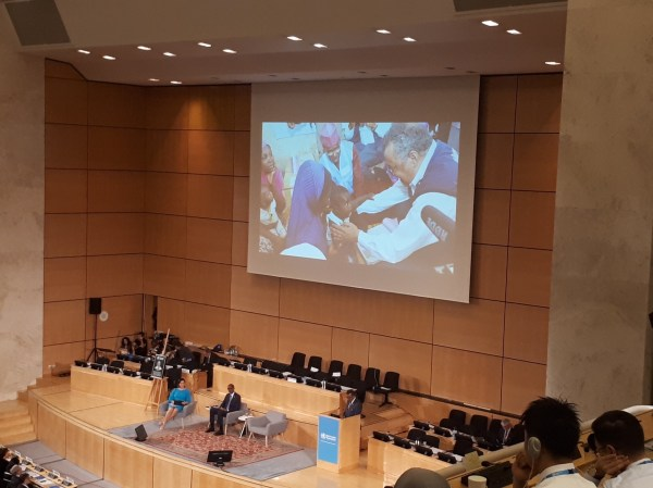 At this year's World Health Assembly, Dr. Tedros reflected on his visit to Borno in 2017, in his message to health leaders from across the world