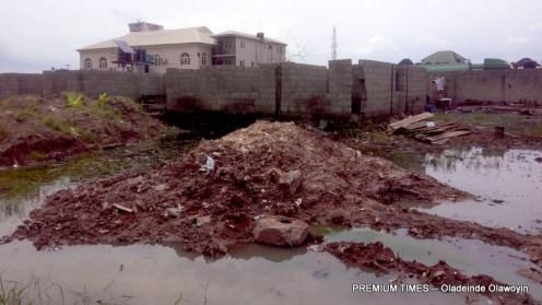 Abandoned Amuwo Odofin health centre, Maria Road