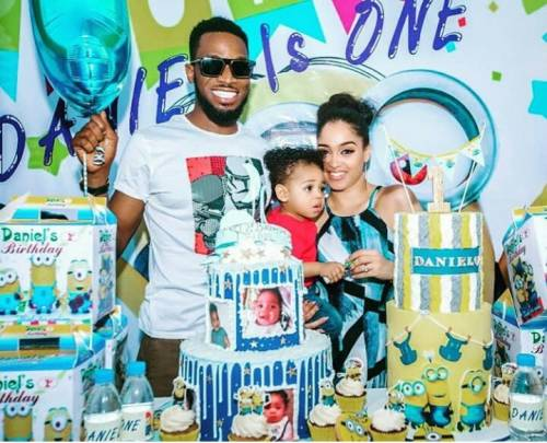 D'Banj and Family
