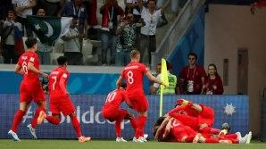 England celebrates