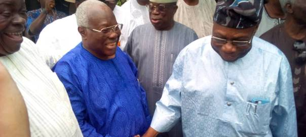Obasanjo visits Bode George