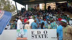 FILE: Edo state at the APC National Convention