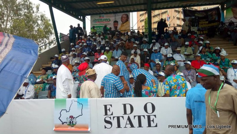 Edo state at the APC National Convention
