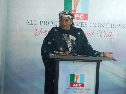 Mama Taraba announces plan to re-contest governorship election