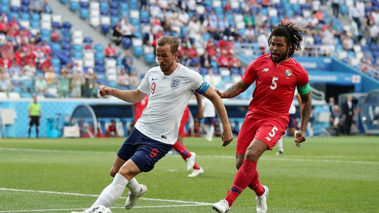 Harry Kane during the Panama match.