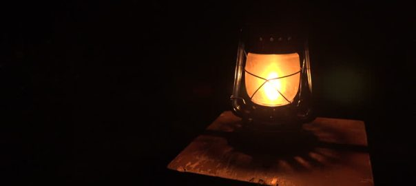 Lantern Light used to illustrate the story