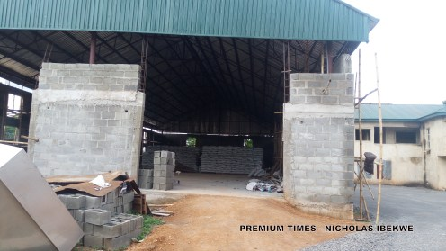 New fertiliser warehouse under construction in Ebonyi