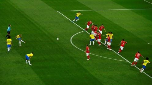 Neymar freekick
