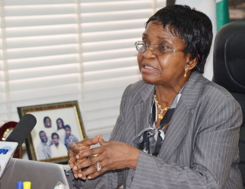 NAFDAC Director-General, Mojisola Adeyeye