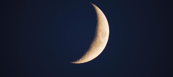 New Moon used to illustrate the story. [Photo credit: AboutIslam.net]