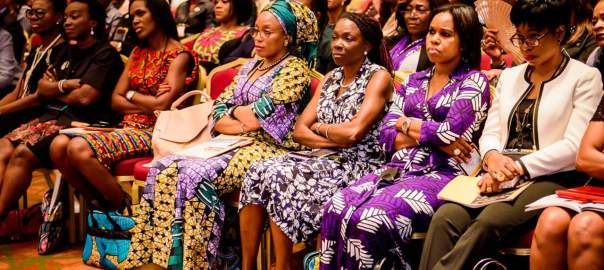 Women in a gathering used to illustrate the story. [Photo credit: The Guardian Nigeria]