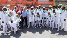 Super Eagles departing Austria