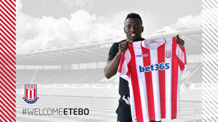 Stoke City sign Super Eagles midfielder, Etebo