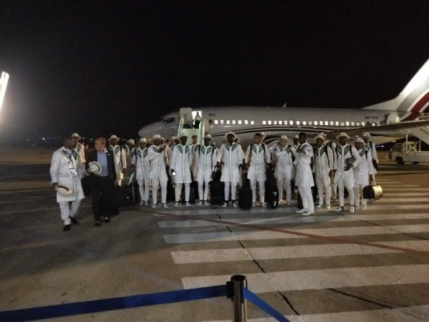 Super Eagles arrive Russia for World Cup