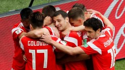 Russia football team