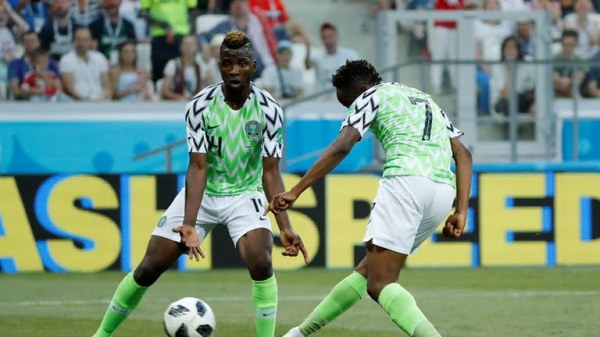 Ahmed Musa, Scores the second goal for Nigeria against Iceland