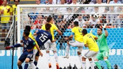 Osaka's goal against Colombia (Photo Credit: Reuters)
