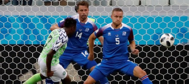 Iceland v Nigeria (Photo Credit: Reuters)
