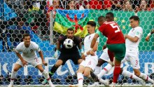 Morocco's Benatia last attempt on goal