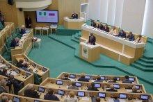 Senate President, Bukola Saraki at the Federation Council of the Russian Federation at the invitation of its Chairperson, H.E. Valentina Matviyenko.