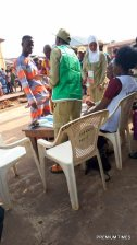 Update: Ise/Orun- Back to Odo Ise II, Onisa's house, ward 2, PU 8. Got back here at 8:40am, VOTERS CHECKING THEIR NAMES. Presiding Officer identifies himself as Adejo, APO I, II, III present. Verification and voting have also begun.