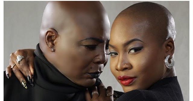 Charly Boy and his daughter, Dewy