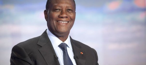 Cote d'Ivoire President Alassane Ouattara. [Photo credit: ThisIsAfrica.me]