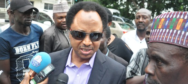 The senator representing Kaduna Central in the National Assembly, Shehu Sani