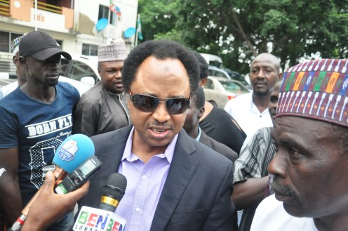 The senator representing Kaduna Central in the National Assembly, Shehu Sani
