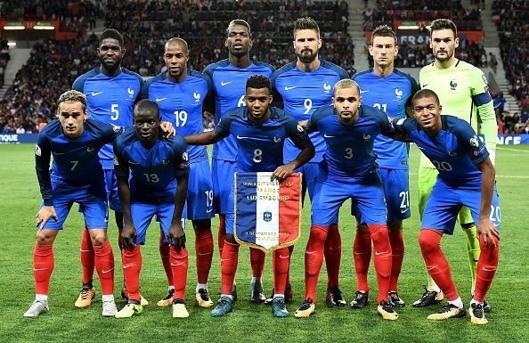 France National Team World Cup 2018. [Photo credit: Sports Keeda]