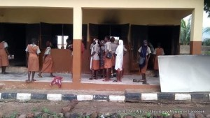 A project that's billed to be commissioned on Thursday 19th July by Sen Dino Melaye has been burnt down by some hoodlums in Sarkin Noma, Lokoja, Kogi state. The two class room fully built and donated to Government Girls Secondary school Lokoja is one of senator Dino's constituency projects across kogi west senatorial district. This is the lowest form of politics we have seen in recent time. Credit: Abdulslimzy Maiyaki on Facebook