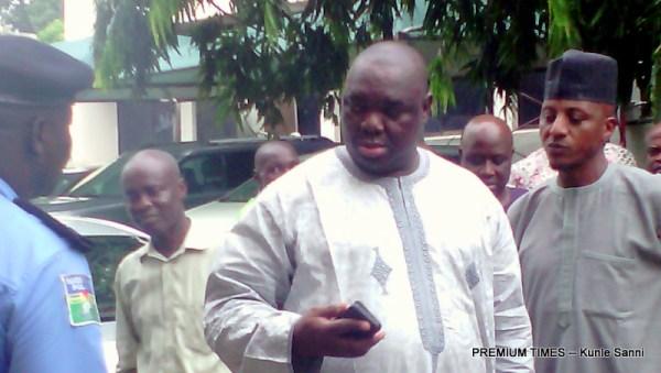 Chris Giwa at NFF secretariat in Abuja
