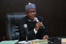 Permanent secretary ministry of health, Abdullahi Mashi [Photo: Ministry of health ]