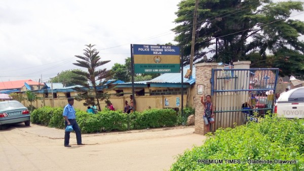 Entrance of the Ikeja Police College