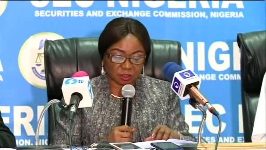 Mary Uduk, Acting Director-General of SEC. [Photo credit: CNBC Africa]