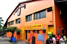 Afrika Shrine, a nightclub in Lagos founded by Nigerian music legend, Fela Anikulapo Kuti. [Photo credit: Come to Nigeria]