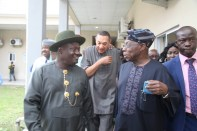 OBASANJO UNDERGOING MEDICAL CHECK UP IN BYS 088