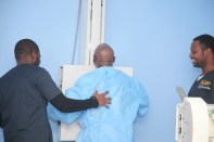 OBASANJO UNDERGOING MEDICAL CHECK UP IN BYS 172