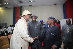 OBASANJO UNDERGOING MEDICAL CHECK UP IN BYS 356